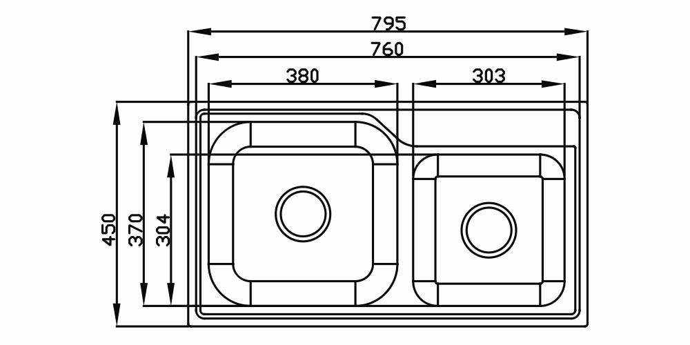Imagem das dimensoes do produto FUNZIONALE 228