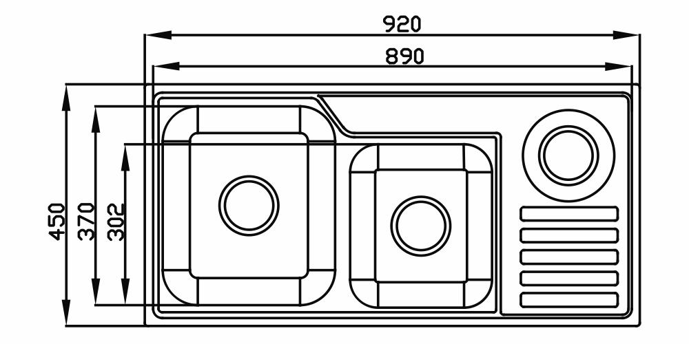 Imagem das dimensoes do produto FUNZIONALE 229