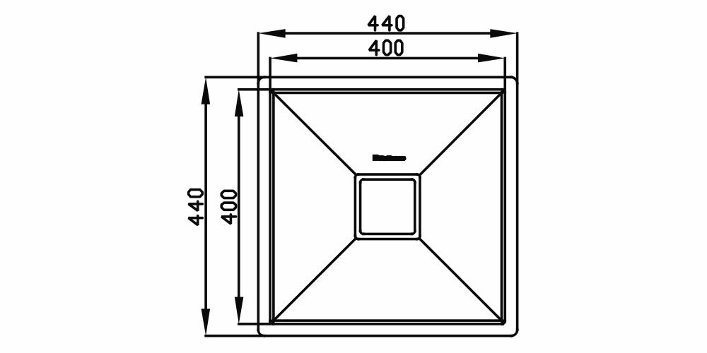 Imagem das dimensoes do produto PRIMACCORE 400 BLACK MATTE